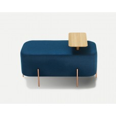 MAMMOTH POUF STOOL RECTANGULAR WITH TRAY