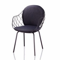 PINA CHAIR WITH STEEL LEG