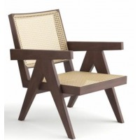 CAPITOL RATTAN LOUNGE CHAIR