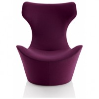 PAPILIO LOUNGE CHAIR WITH ROTATING BASE (PREMIUM)
