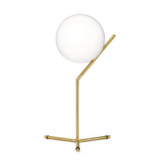 GLOBE IC T1 BRASS TABLE LAMP
