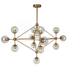 MODO LAMP GOLD BRASS
