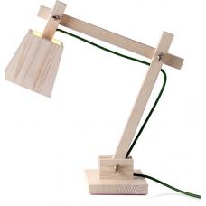 DSIGNHAUS WOOD TABLE LAMP